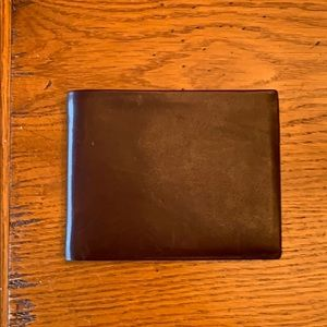 Polo by Ralph Lauren Brown Leather Wallet